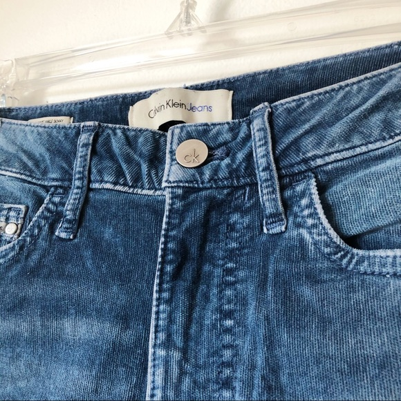 Calvin Klein High Waisted Skinny Ankle Jeans